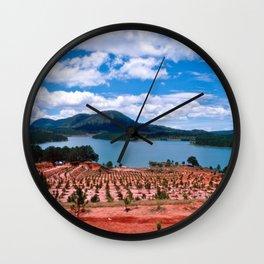 Lake - Central Highland - Vietnam Wall Clock