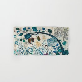 nature【Japanese painting】 Hand & Bath Towel