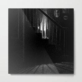 Drawlloween 2015: Ghost Metal Print