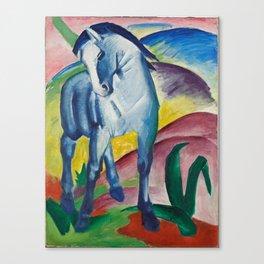 Marc, Franz - Blue Horse I Canvas Print