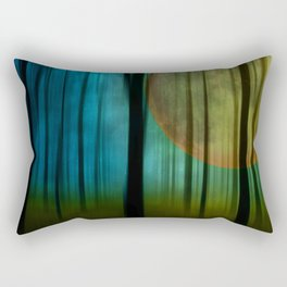 Full Moon Forest Rectangular Pillow