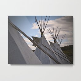 Fire Keepers Metal Print