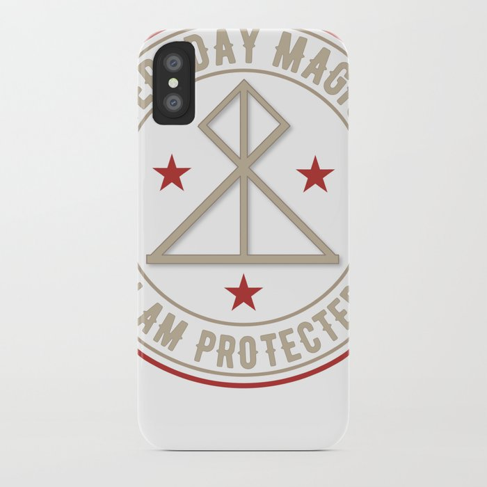 I Am Protected magickal activated sigil tshirt gift iPhone Case