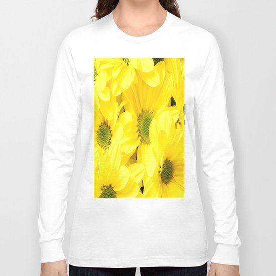 Happy Of A Flower Long Sleeve T-shirt