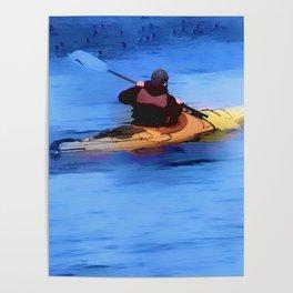 The Explorer    -   Kayaker Poster