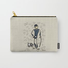 Charlie and the dog Carry-All Pouch