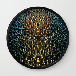 Precious Water Drops Wall Clock