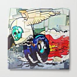 Flying Eye Metal Print