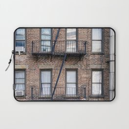New York Fire Escape Laptop Sleeve