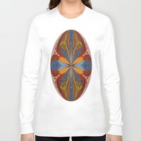 marble Long Sleeve T-shirts featuring Marble by Lady Tanya bleudragon