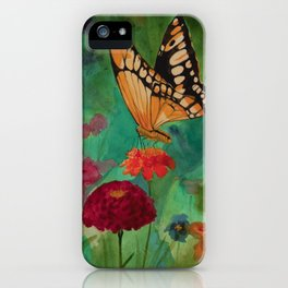 Summer Butterfly iPhone Case