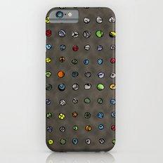 Imaginary Agates (Warm Dark Sand Tones) Slim Case iPhone 6s