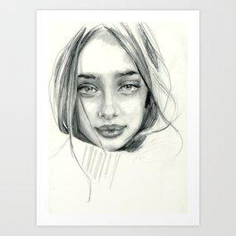 Doe Eyed Art Print