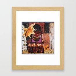 AFTER THE RAIN, in Tamil Nadu, India Framed Art Print