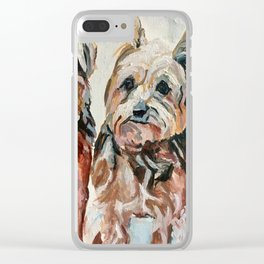 Her Three Loves Clear iPhone Case