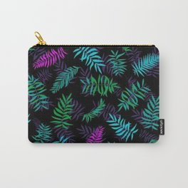 Colorful Leaf Floral Pattern Carry-All Pouch