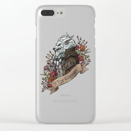 Old Wolf Clear iPhone Case