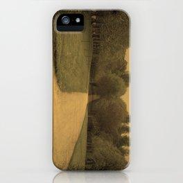 Sepia drive iPhone Case