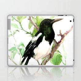 Magpie Bird, magpie Laptop & iPad Skin