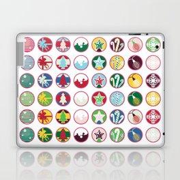2020 X-mas Stickers Laptop & iPad Skin