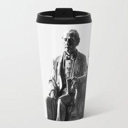 old man statue Travel Mug