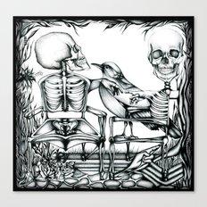 Sit Long Canvas Print