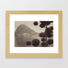 Lugano Framed Art Print