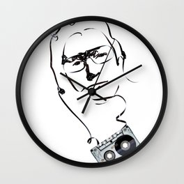 Bono Lyrical Art Wall Clock