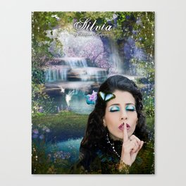 Ssshhh.. It's a secret Canvas Print