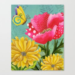 Wondrous Garden Canvas Print