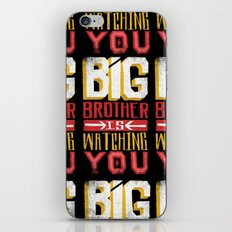 BIG BROTHER IS WATCHING YOU iPhone & iPod Skin