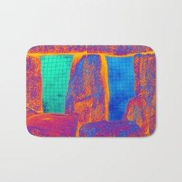 Stonehenge Meets Pop Art Bath Mat
