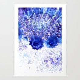 Crowning Flowers 2 Art Print