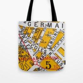 Paris Streets 4 Tote Bag