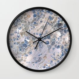 Pebbles in the Creek #2 Wall Clock