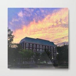 Hughes Hall at Fordham University - Rose Hill Metal Print