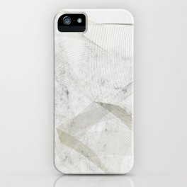 Elegant scadinavian art iPhone Case