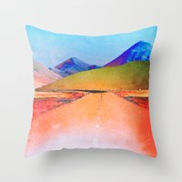 verse Throw Pillows featuring Verse by Daniel Montero