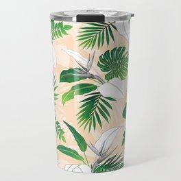 Peachy Palms Travel Mug