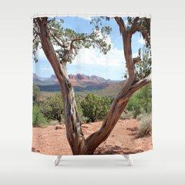 Arizona Horizon - Sedona Red Rocks Shower Curtain