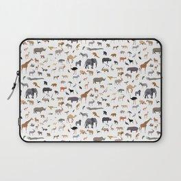 African animal pattern Laptop Sleeve