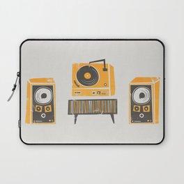 Vinyl Deck And Speakers Laptop Sleeve