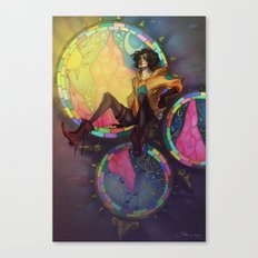 Hiding High Canvas Print