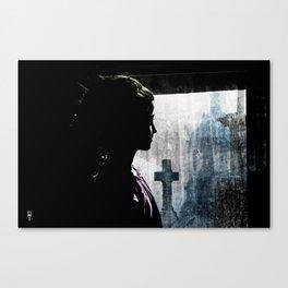 Suspend The Death Watch Canvas Print