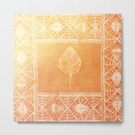 Tree Lace Metal Print