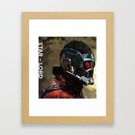 Star-Lord Digital Painting  Framed Art Print