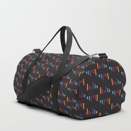Parallel Lines Colourful #2 Duffle Bag