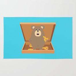 Brown Bear in Rug