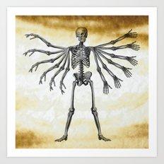 12 arms to hug you Art Print