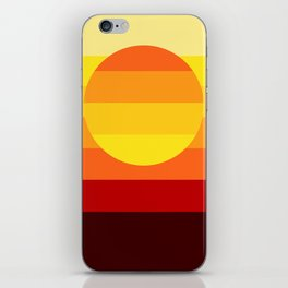 Sunset Stripe iPhone Skin